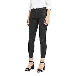 Oasis - Black coated skinny isabella jeans