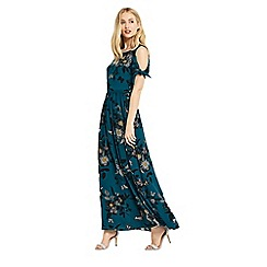 Oasis - Int shipwrecked print maxi dress