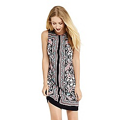 Oasis - Scarf print shift dress