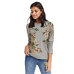 Oasis - Blossom embroidered sweater