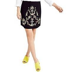 Oasis - Nina embroidered skirt