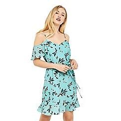 Oasis - Butterfly cold shoulder dress