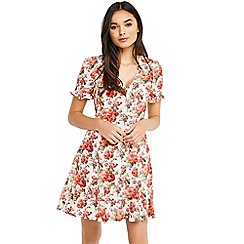 Oasis - Utility rose t-shirt dress