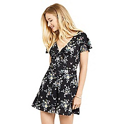 Oasis - Marie tie front playsuit