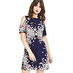 Oasis - Kimono frill sleeves dress