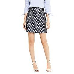 Oasis - Butterfly jacquard skirt