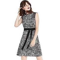 Oasis - Texture print dress
