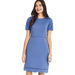 Oasis - Scallop sleeves dress longer length