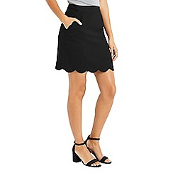 Oasis - Scallop pocket skirt