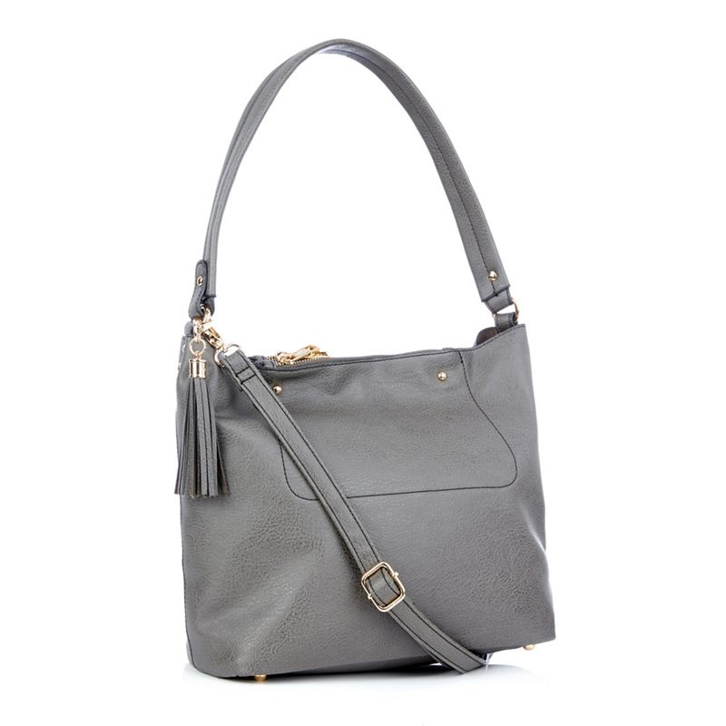 Oasis Grey Ruby hobo bag