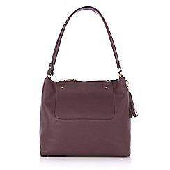 Oasis - Burgundy 'Ruby' hobo bag