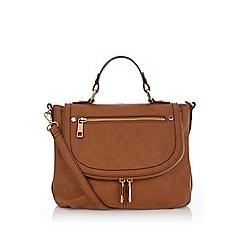 Oasis - Tan 'Starry' satchel bag