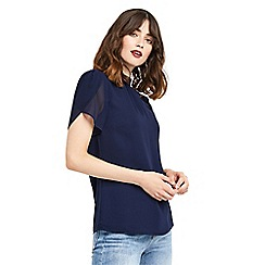 Oasis - High neck angel sleeves top