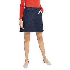 Oasis - Denim pocket mini skirt