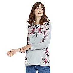 Oasis - Kimono mirror woven top