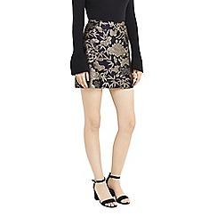Oasis - Multi kimono jacquard mini skirt