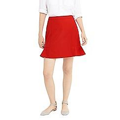 Oasis - Red flippy skirt