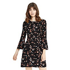 Oasis - Ruby flute sleeves dress