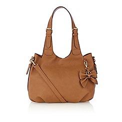 Oasis - Tan slouch scoop bag