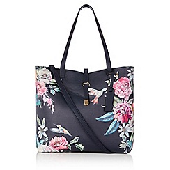 Oasis - Multi Illustrator print 'Sunni' bag