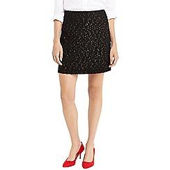 Oasis - Black spot foil popcorn skirt
