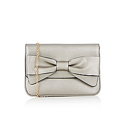 Oasis - Silver bow clutch