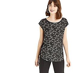 Oasis - Silver NTU foil t-shirt