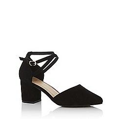 Oasis - Black 'Ruth' block heels shoes