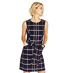 Oasis - Merlot check dress