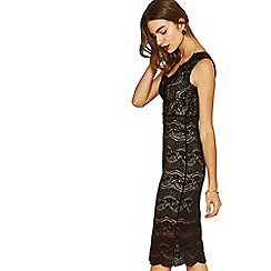 Oasis - Black lace dress