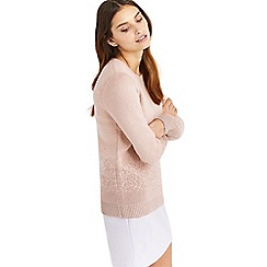 Oasis - Pink ombre sparkle knit