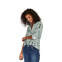 Oasis - Multi green butterfly shirt