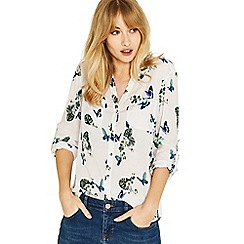 Oasis - Multi natural butterfly shirt