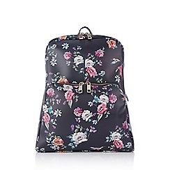 Oasis - Multi coloured 'Illustrator' print backpack