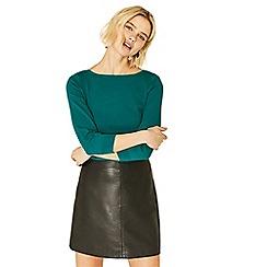 Oasis - Green new textured knit jumper
