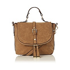 Oasis - Tan 'Steffi' satchel