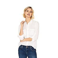 Oasis - White cotton shirt