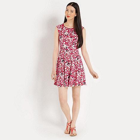 Oasis - Fluro floral print dress