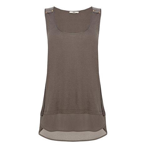 Oasis - Oasis stud detail vest