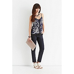 Oasis - Clustered shadow print cami