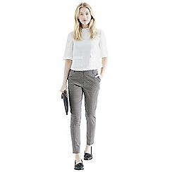 Oasis - Tile geo print trousers