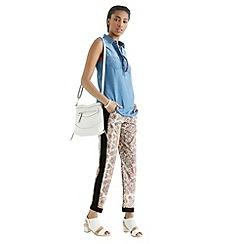 Oasis - Paisley soft print trouser