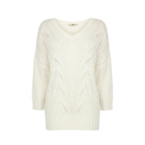 Oasis - Oasis cable batwing jumper