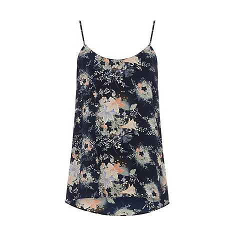 Oasis - Oasis fan flower dip back cami