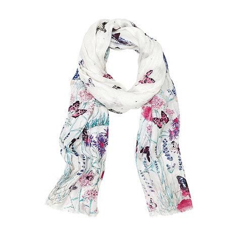 Oasis - Oasis oriental meadow garden scarf