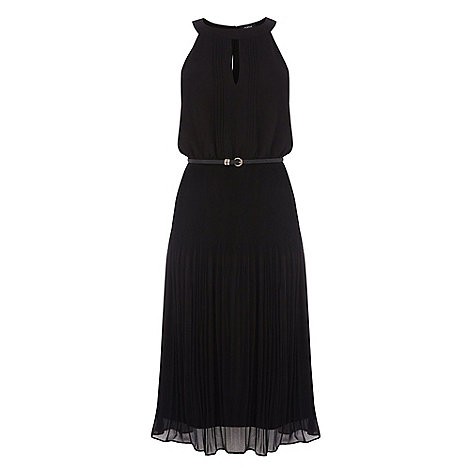 Oasis - Oasis chiffon pleated midi dress