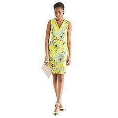 Oasis - Lemon zest pencil dress