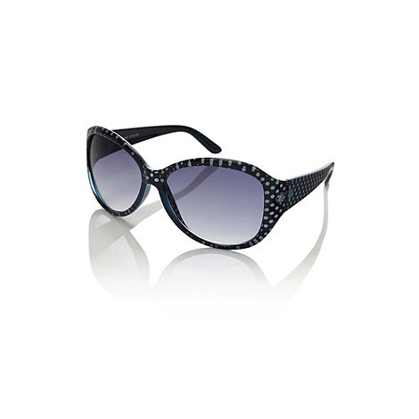 Oasis - Polka dot plastic sunglasses