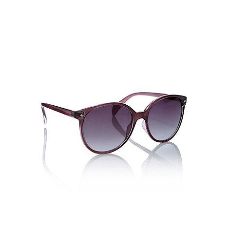 Oasis - Preppy pink plastic sunglasses