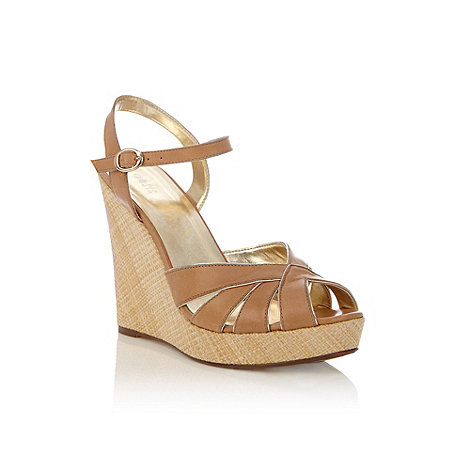 Oasis - Oasis tea dance textured wedge